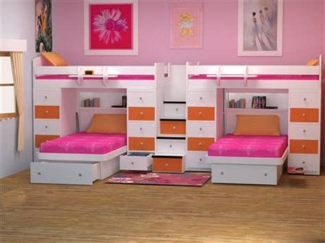 bedrooms 4 kids berg furniture dual twin over twin space saver bunk bed