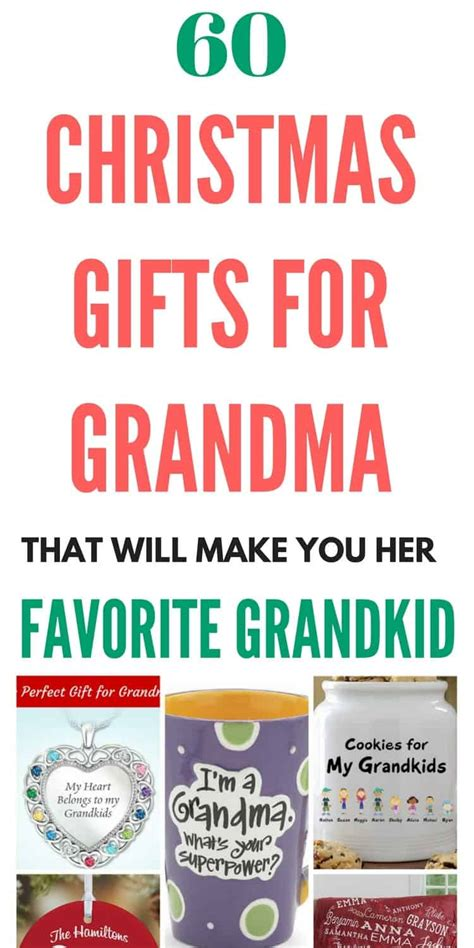 how to get a christmas gift for my child what to get for top 20 grandmother gift ideas 2018