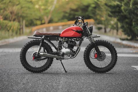 Honda Cycles by Honda Tmx 155 Brat Tracker By Revolt Cycles Bikebound
