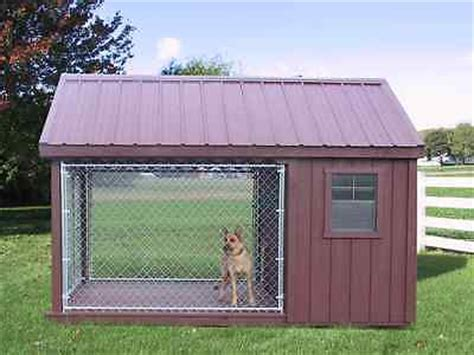 Dog Run Outdoor Kennel K9 House Amish Pa Dutch Custom Handmade Shed Lancaster New