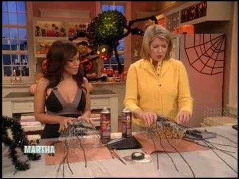 Martha Stewart And Rosie spider decorations rosie perez martha stewart