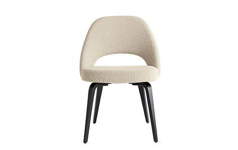 Knoll Saarinen Executive Side Chair saarinen executive side chair with wood legs design within reach
