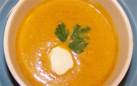 recettes de soupe au potimarron les recettes les mieux