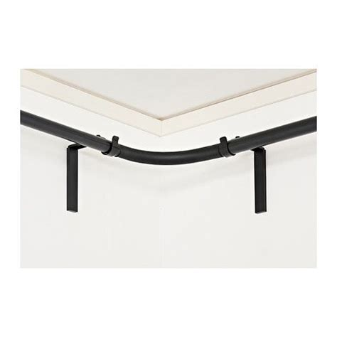 what color curtain rod color black other and colors on pinterest