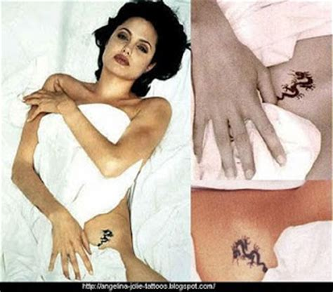tattoo dragon angelina jolie tattoo removal angelina jolie tattoos and meanings
