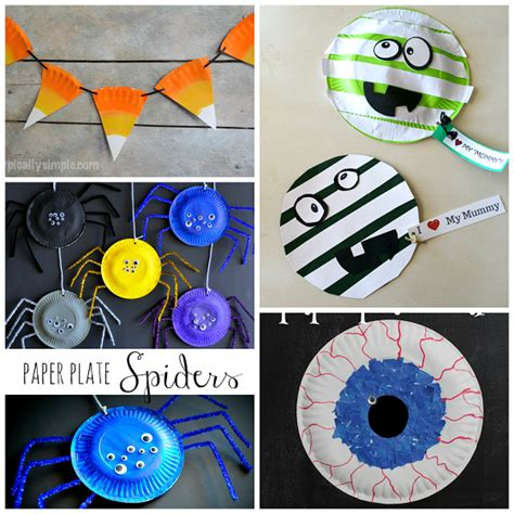 Paper Crafts For Teenagers - paper plate crafts for crafty morning
