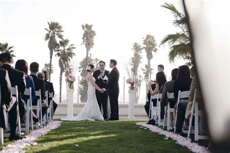 weddings in huntington california hyatt huntington wedding by park 19 pink and white ceremony me weddings events
