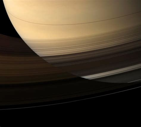 density saturn saturn ring density is an illusion science wire earthsky