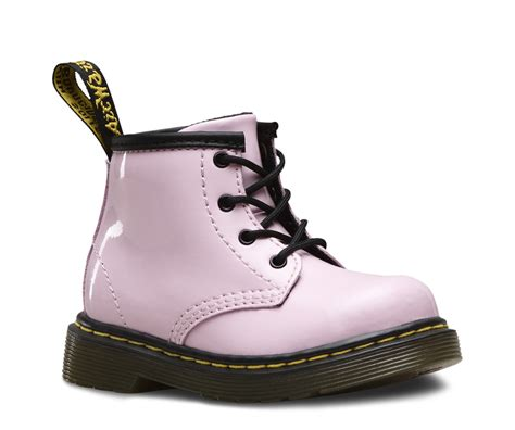 Dr Martens infant 1460 patent boots shoes official dr