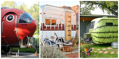 travel trailer decorating ideas trailers and airstreams vintage trailer