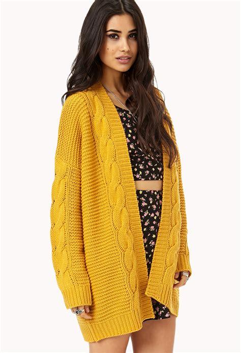 mustard colored cardigan mustard yellow cardigan sweater grey