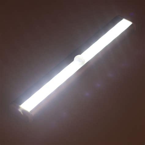 motion sensor led strip light cabinet wardrobe stairway pir motion sensor 10 led