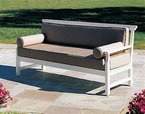 unique benches and settees jackson casual settee weatherend