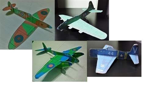 Paper Models To Make - pics for gt simple airplane model