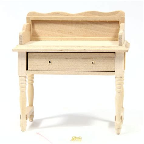 Dolls House Wash Stand Plain Wood Bef012