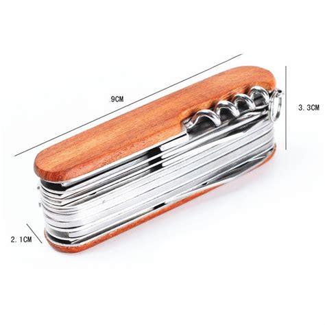 swiss army folding knife wood pocket swiss army knife swissch folding