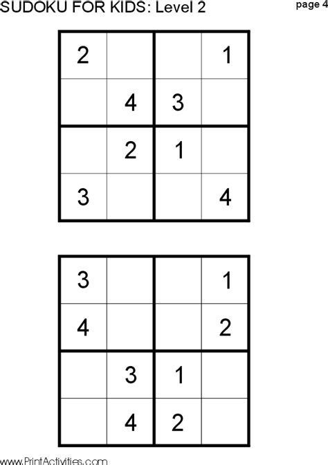 printable kid sudoku puzzles search results for sudoku for kids calendar 2015