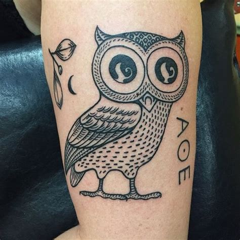 Tattoo Athena Owl | owl of athena tattoos purplepanthertattoo birds athena