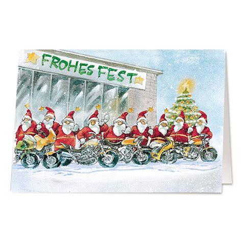 Motorrad Online Karte by Lustige Weihnachtskarten Quot Motorrad Quot Online Bestellen