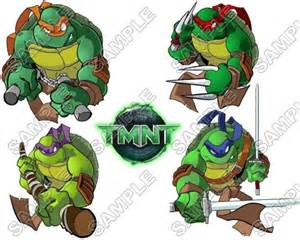 the turtles names and colors mutant turtles names and colors