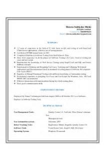 Resume Shweta Subhedar Bhide