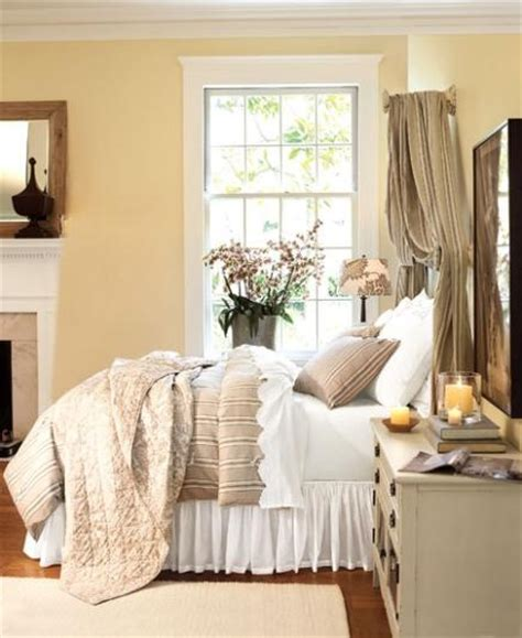 guest bedroom pottery barn design benjamin paint color 2151 60 linen sand http www