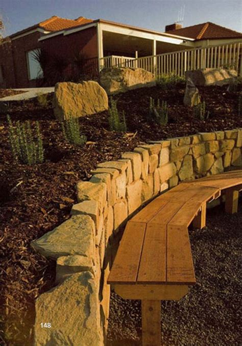 landscape retaining walls bendigo luke bullock landscaping