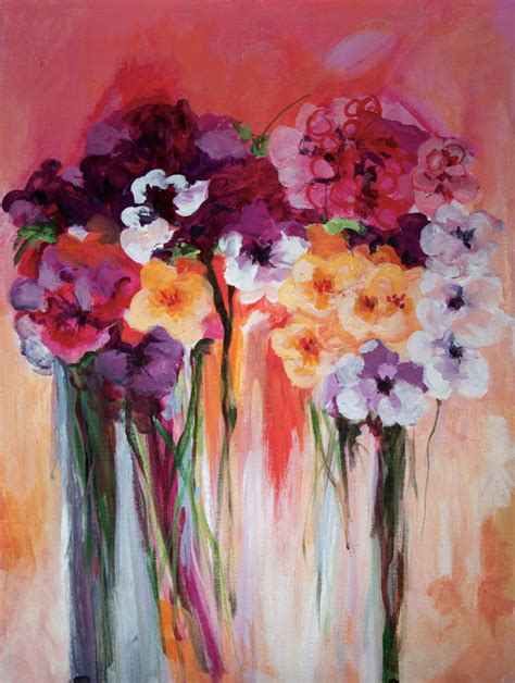 acrylic paint flowers the gallery for gt easy paintings for beginners on canvas