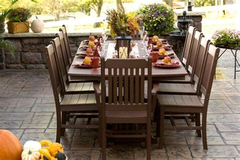 Mission Style Patio Furniture Check Out Our Superior Polywood Outdoor Mission Style Dining Set Amish Furniture