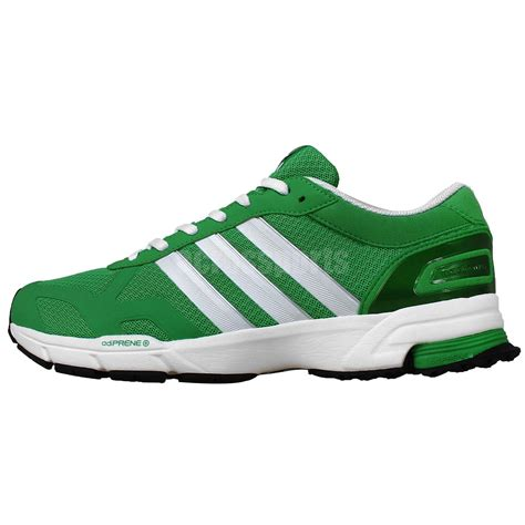 Adidas Mararhon Import adidas marathon 10 ng m green white mens racing running shoes runner sneakers ebay