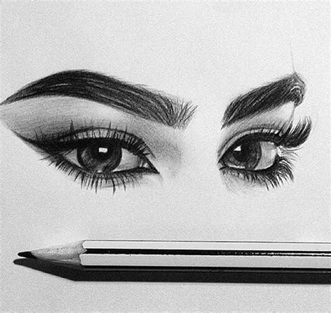 Sketches Eyebrows by Eye Eyebrows Pencil Sketch Image 3970121 By Lucialin
