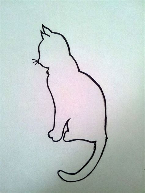 tattoo cat silhouette 44 best whimsical cat tattoo silhouette images on