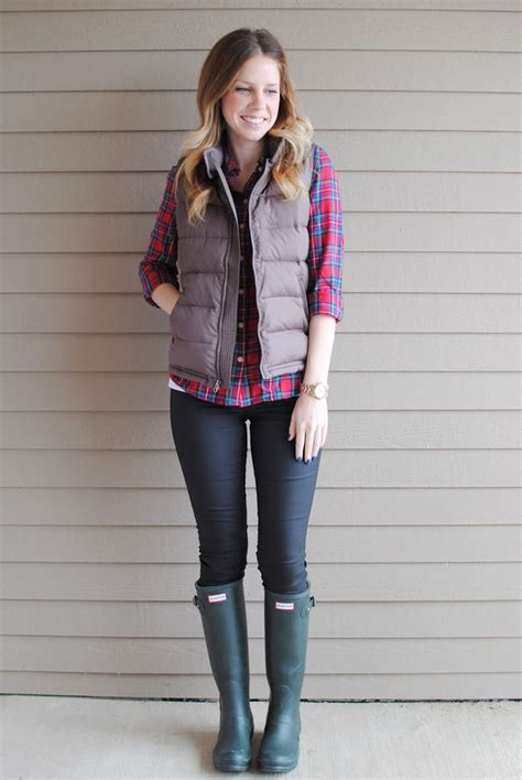 cool outfit ideas  puffy vest