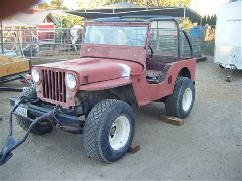 1951 Willys Jeep 51flatrunner S 1951 Jeep Willys In Norco Ca