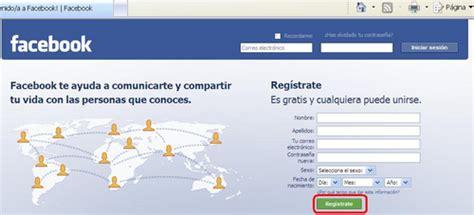 facebook en espanol registrarse registrarse en facebook en espa 241 ol tecnoninja