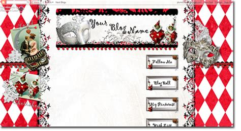 theme blog love plumrose lane themes love struck blog theme