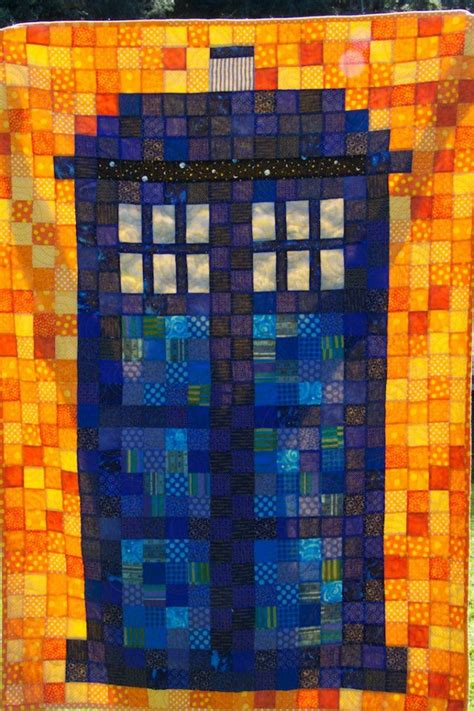 Tardis Quilt Block by Discover And Save Creative Ideas