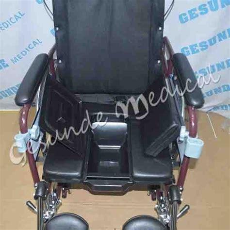 Kursi Roda Rebahan kursi roda multifungsi 607gcj tempat makan bab rebahan selonjoran toko medis jual alat