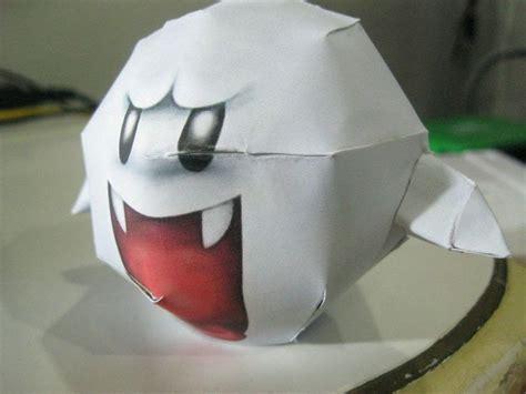 super mario boo papercraft     paper model