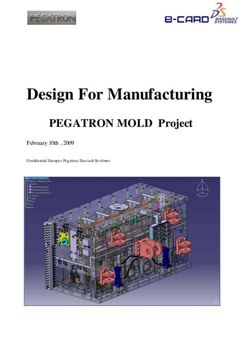 design for manufacturing slideshare pegatron proposal