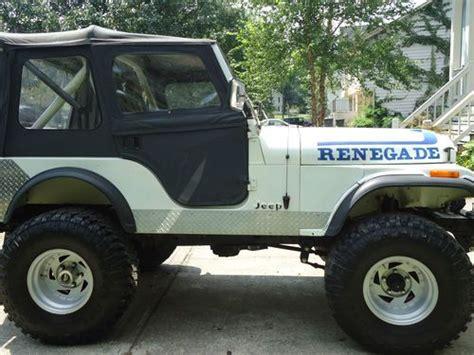 1982 Jeep Cj5 Purchase Used 1982 Jeep Cj5 Base Sport Utility 2 Door 4 2l