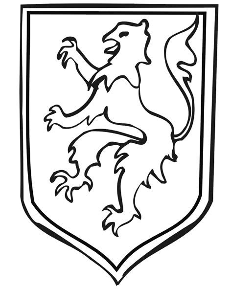 free coloring pages of germany coat of arms