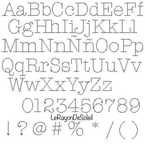 pattern writing alphabets pdf cross stitch pattern alphabet font american typewriter pdf