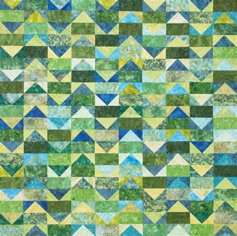 Patchwork Flying Geese - flying geese quilt allpeoplequilt