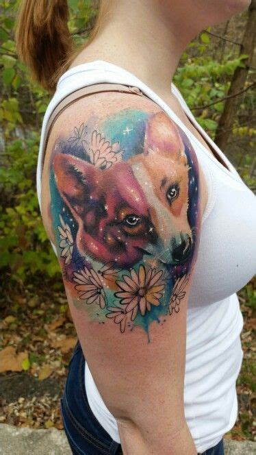 corgi tattoo best 25 corgi ideas on tattoos