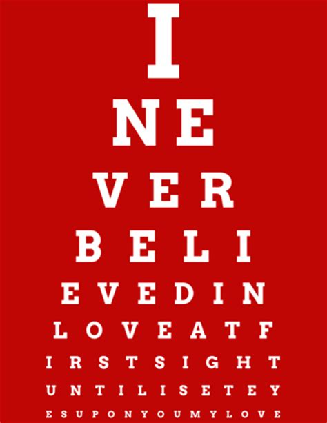 printable eye chart gift fancy eye chart maker create custom eyecharts online