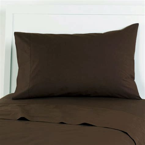 chocolate california king sheet set 4pc dark brown