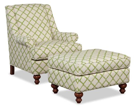 accent chair and ottoman set craftmaster accent chairs traditional chair and ottoman
