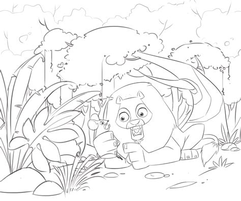 coloring pages the lion and the mouse coloring pages kidding space
