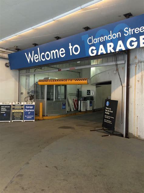 100 Clarendon Garage Rates 100 clarendon garage parking in boston parkme